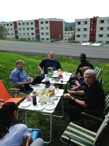 Lunch i det grønne