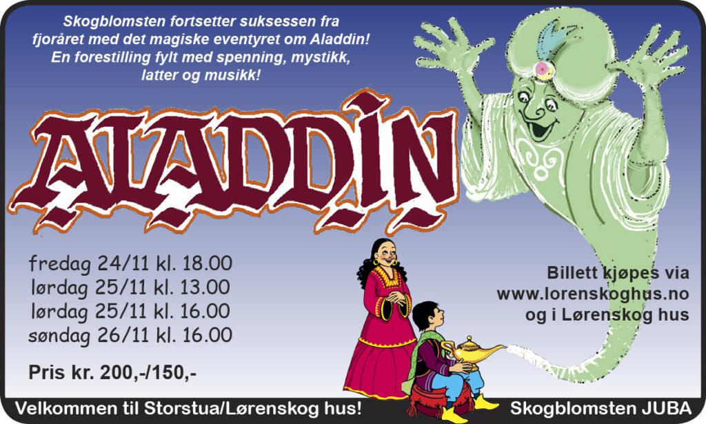Aladdin FB versjon 3 tittel lav bunn magisk